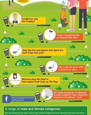 charity golf competition graphic