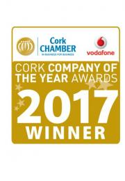 Cork Chamber Cork Company of the Year Award Badge
